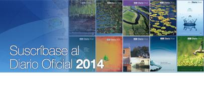 Suscripción Diario Oficial: 2013
