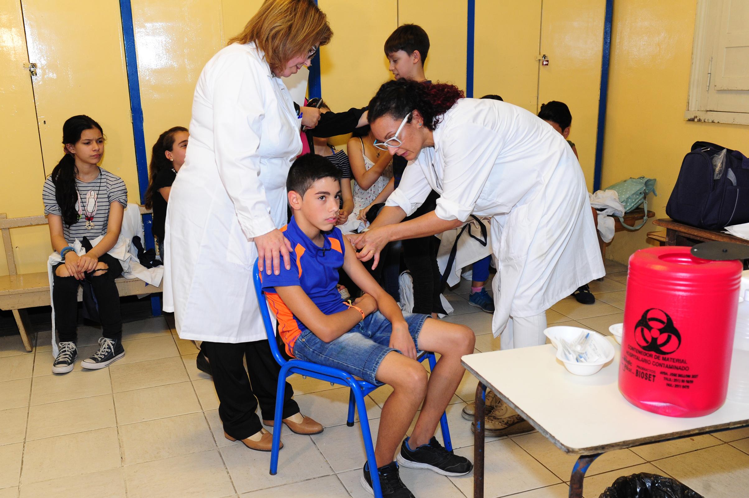 Inicio De Vacunación En Escuelas