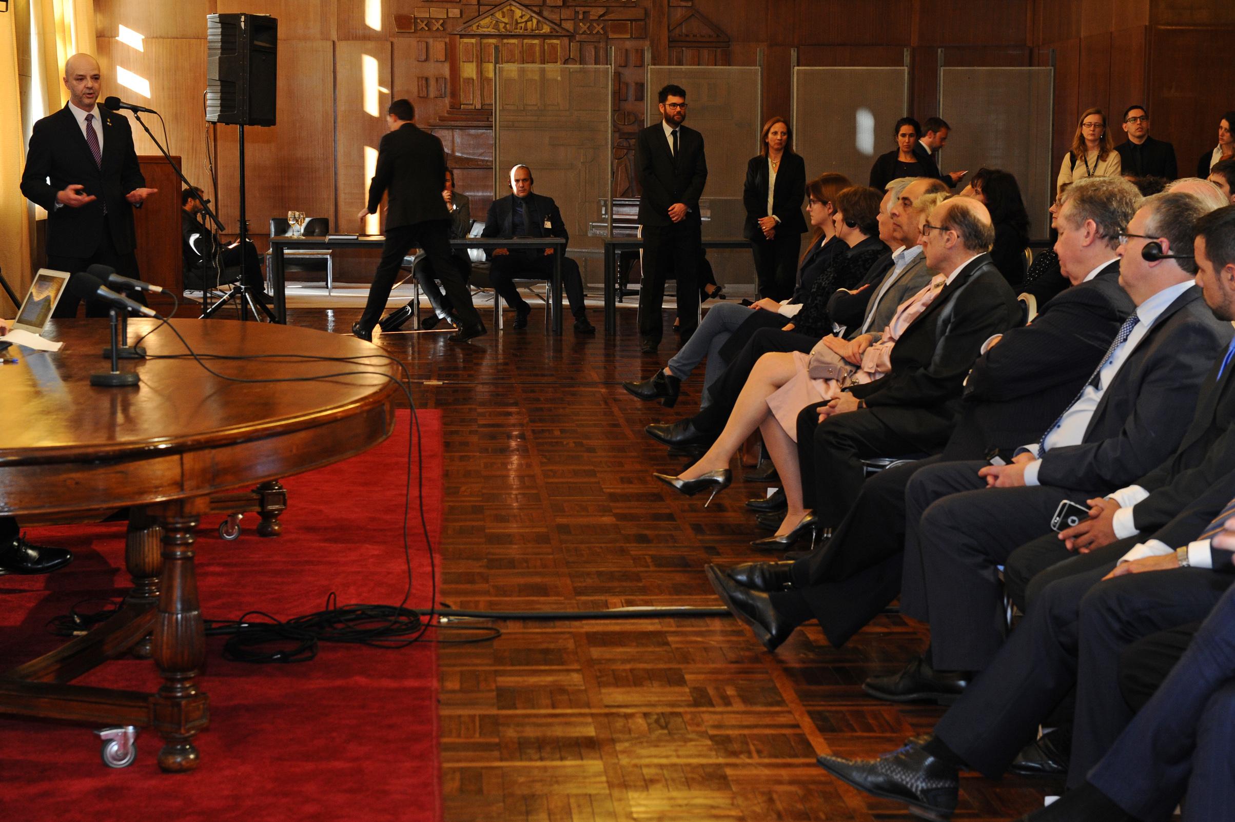 Presentación País A Delegación Belga