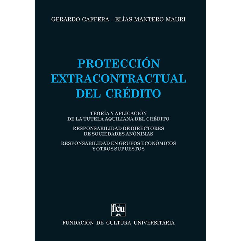 Protección extracontractual del crédito