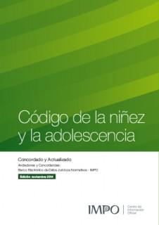 Código De La Niñez Y La Adolescencia
