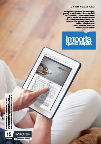 Revista Importa que los Sepas Edición N° 15