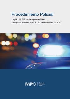 Ley 18.315, Ley De Procedimiento Policial