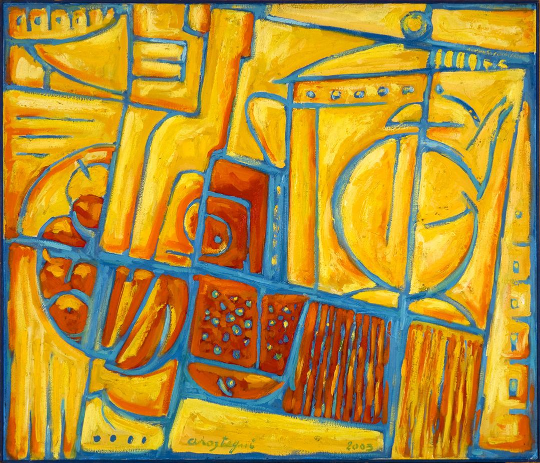 25 – AROZTEGUI – Construcción Bodegón Amarillo
