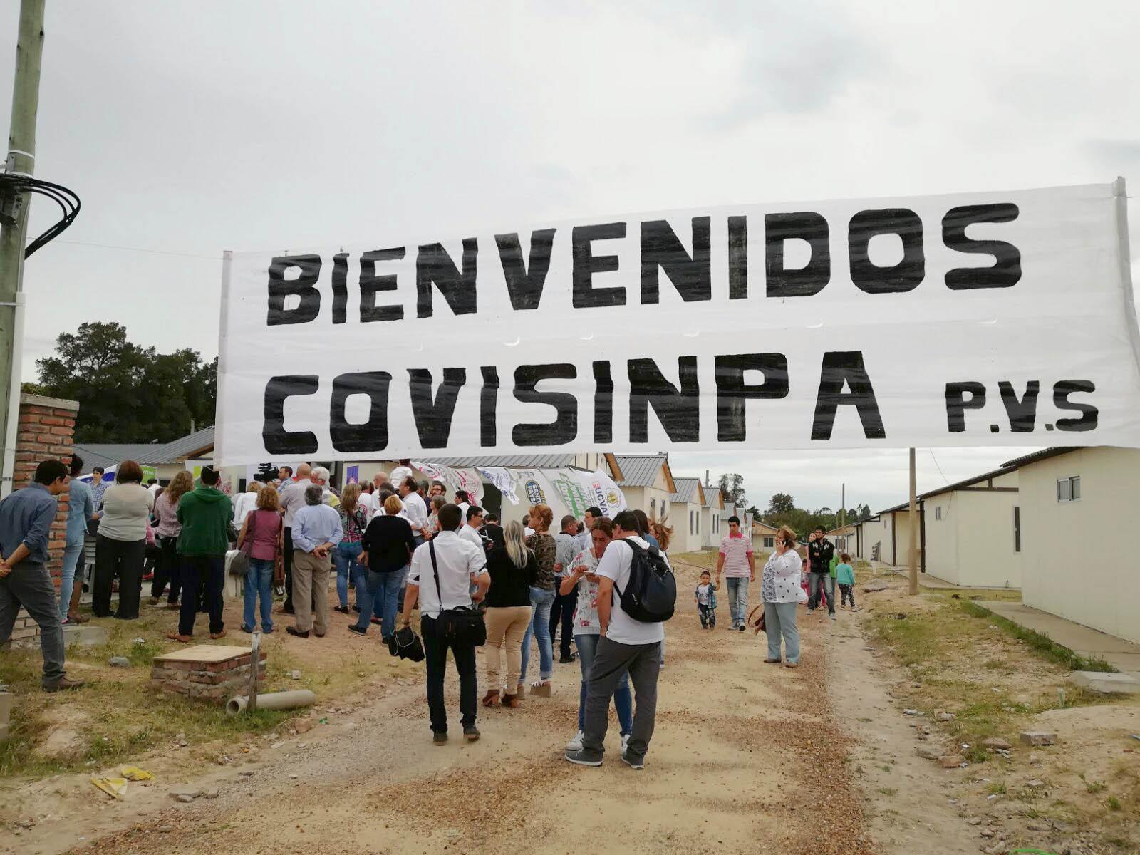 2017: 243 Viviendas Cooperativas Terminadas