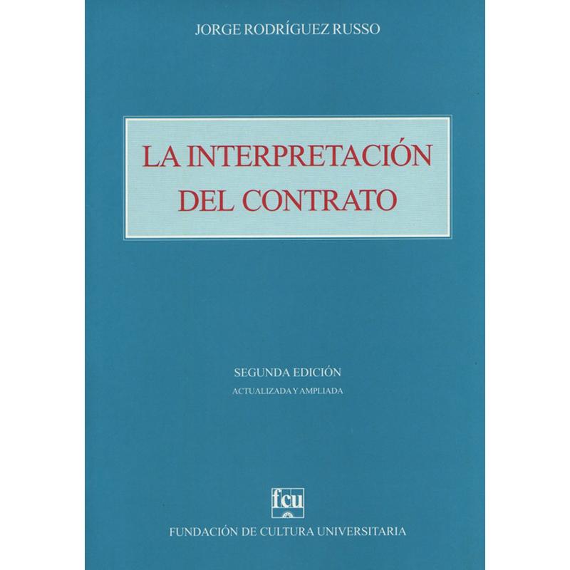 La interpretación del contrato