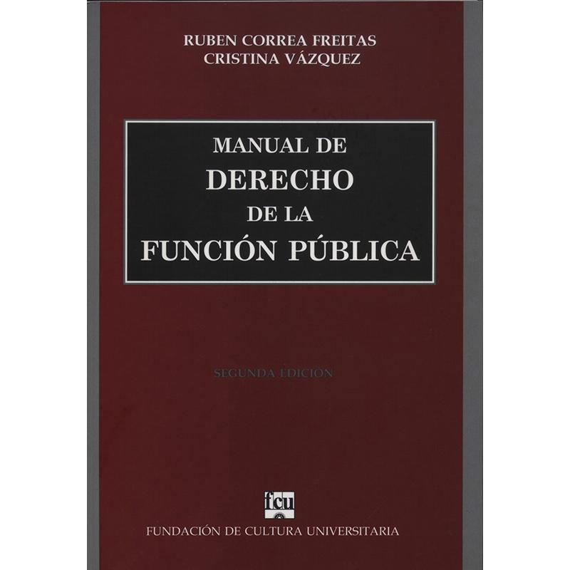 Manual de Derecho de la Función Pública