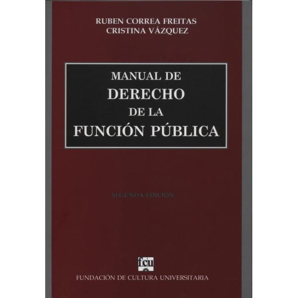 Manual de Derecho de la Función Pública - Librería Digital
