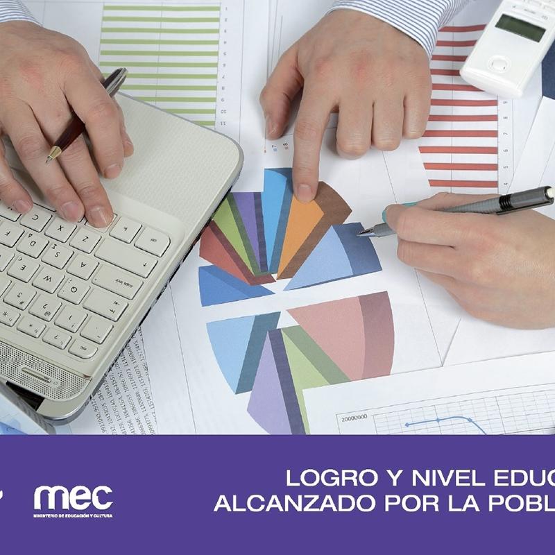 Logro y nivel educativo alcanzado por la población 2015
