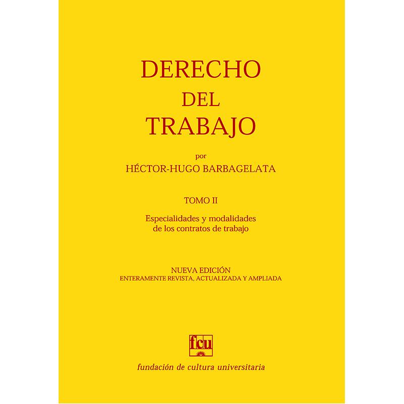 Derecho del Trabajo - Tomo II