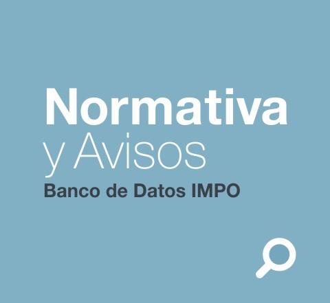 Normativa y avisos legales del uruguay
