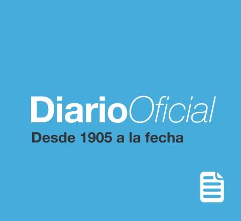 Diario Oficial - Desde 1905 a la fecha