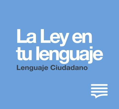 Link que lleva a la pagina de La Ley en tu lenguaje
