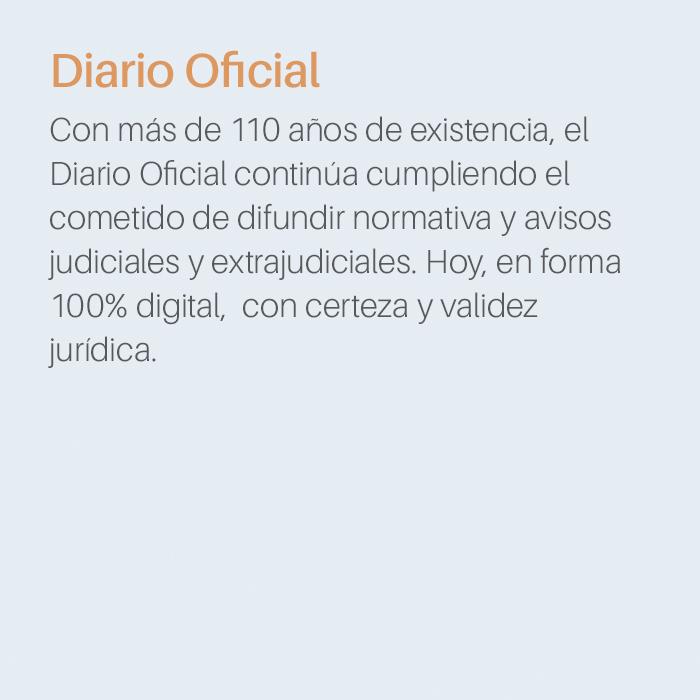 Producto Diario Oficial