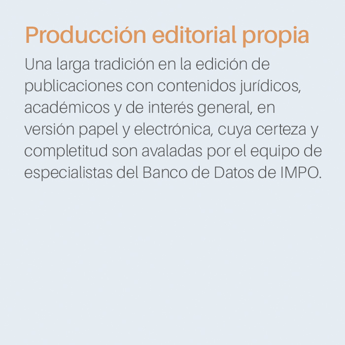 Producción Editorial Propia