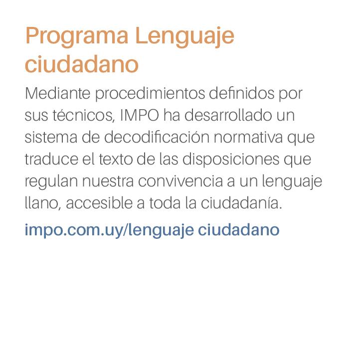 Programa Lenguaje Ciudadano