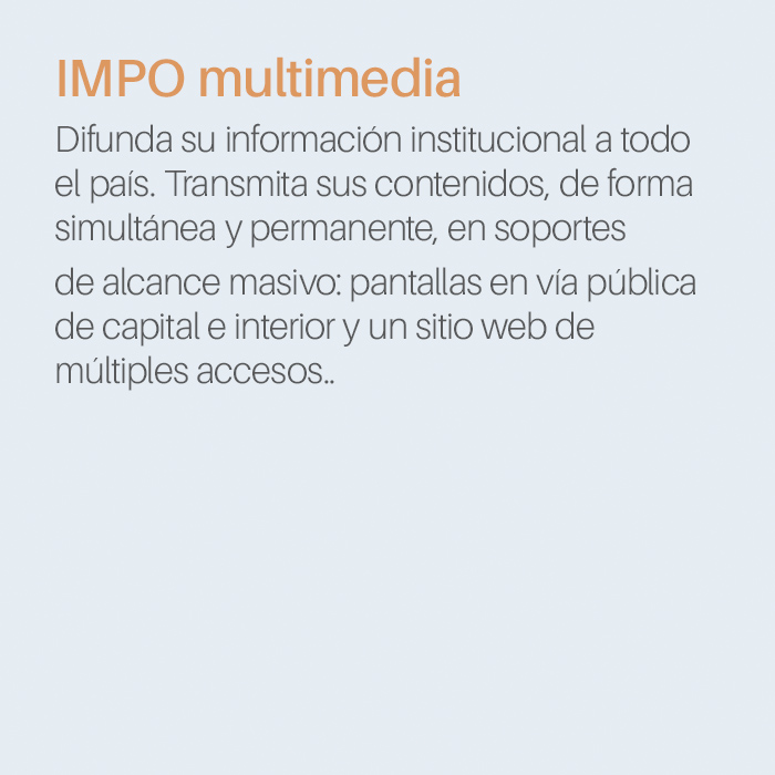 texto IMPO multimedia