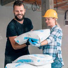 Manipulación Manual De Bolsa De Cemento